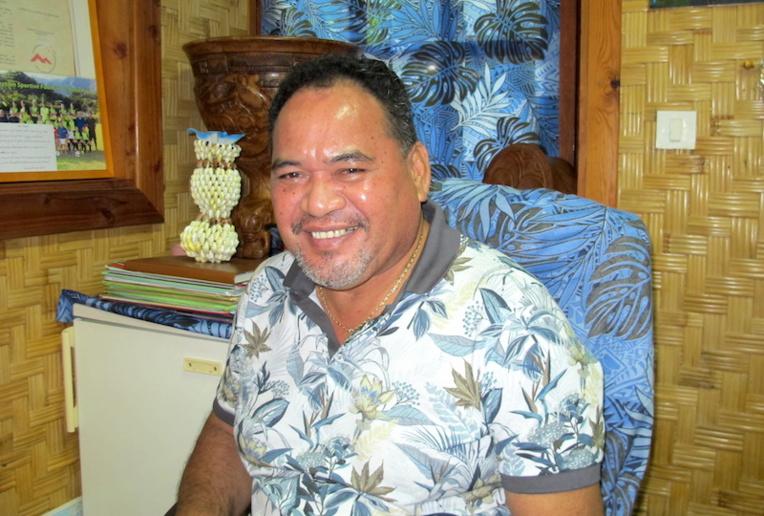 Benoit Kautai, président de la Codim et maire de Nuku Hiva veut tout faire pour que le dossier de l'AMP ne reste pas au fond d'un tiroir du gouvernement local.