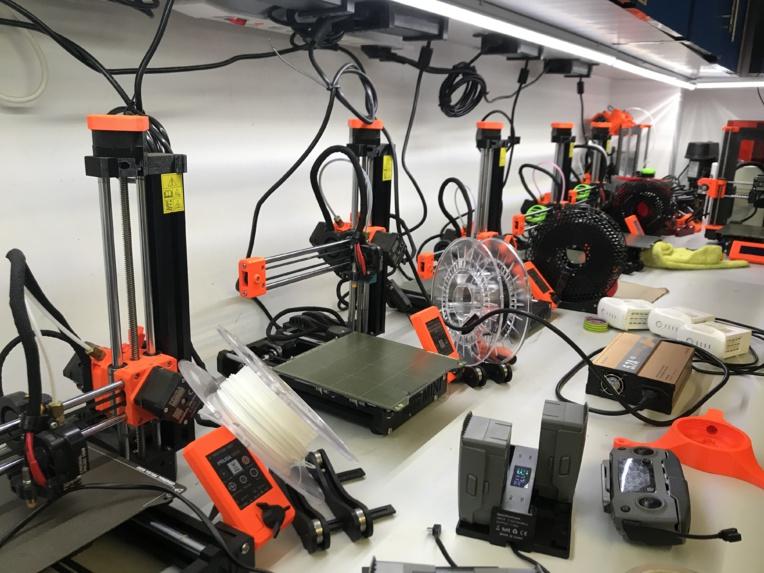 Chez Moana, la majorité des pièces sont fabriquées à l'aide d'imprimantes 3D.