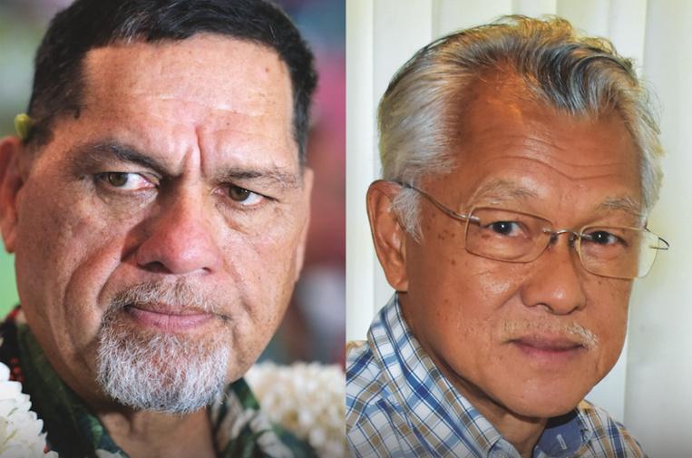 Les Raromata'i contre Tong Sang