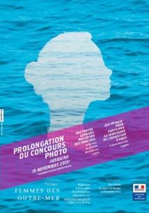 """Prolongation du concours photo """"Femmes des Outre-mer"""""""