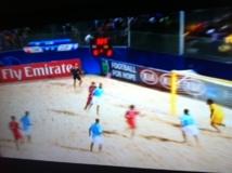 Beach Soccer: L'Espagne s'impose 4 buts à 2 face à Tahiti