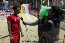 """Beach Soccer : Espagne-Tahiti 4 à 2. Naea Bennett le capitaine : """"Cette défaite est collective"""""""