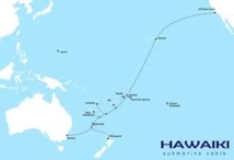Nouveaux progrès pour le projet de câble Hawaiki