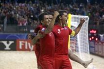 Mondial-2013: Brésil-Espagne et Russie-Tahiti en demies finales