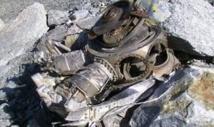 Photo prise le 30 septembre 2008 du moteur du Malabar Princess retrouvé sur le glacier des Bossons (AFP/Archives - Jean-Pierre Clatot)