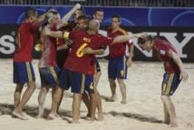 Beach soccer : L'Espagne élimine le Brésil et va en finale du Mondial face à la Russie