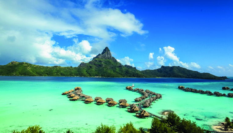"L'Intercontinental Bora Bora ""1er resort dans le Pacifique Sud"""