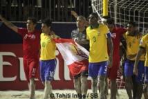 Les Tiki Toa perdent contre le Brésil mais font gagner la Polynésie !