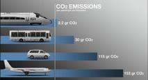 L'empreinte carbone des transports désormais affichée au grand jour