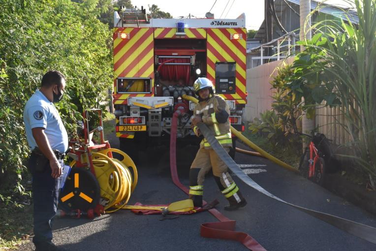 Un incendie détruit quatre maisons à Arue