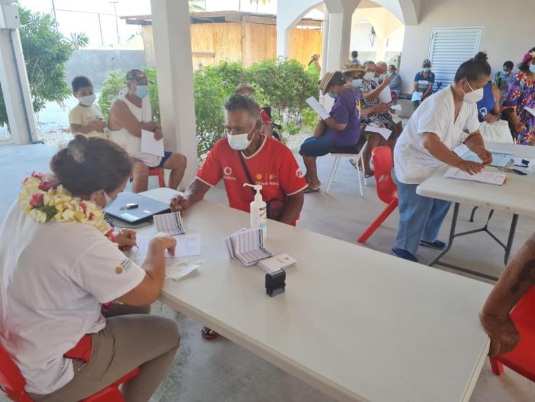 Un taux vaccinal record de 96% à Pukarua