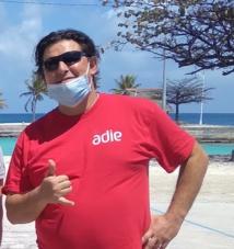 La direction de l'Adie en visite aux Tuamotu