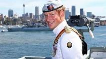 Le Prince Harry à Sydney pour le centenaire de la Marine australienne