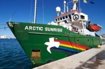 """Arctic Sunrise: l'Australie fait part de son """"inquiétude"""""""