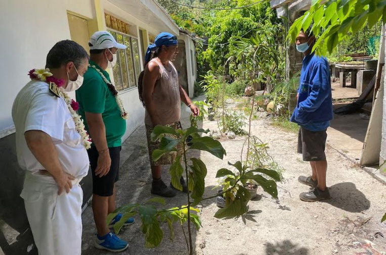 L'Etat visite Maiao, vaccinée à 80%