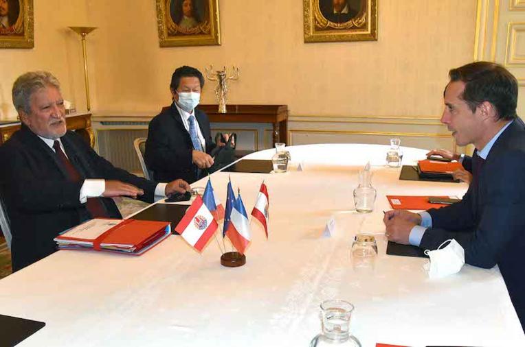 Bouissou invite le ministre chargé des Transports au fenua
