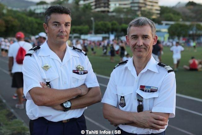 Capitaine Loic Le Nestour & Colonel Pierre Caudrelier