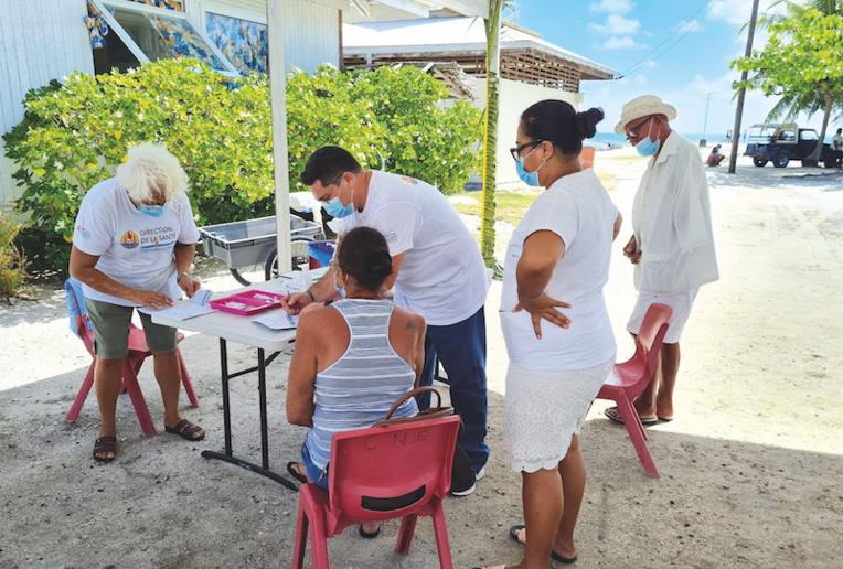 La vaccination se poursuit dans les Tuamotu