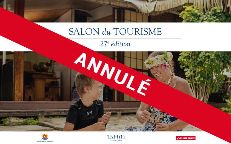 Le Salon du tourisme annulé