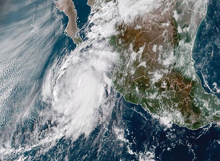 Jose ROMERO / RAMMB/NOAA/NESDIS / AFP