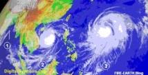 Un des plus puissants typhons de la décennie frappera mercredi l'est du Japon et traverser la région de Fukushima