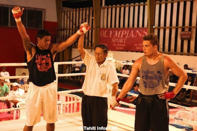 Boxe - Challenge Maco Nena : 3 victoires sur 4 pour Tahiti