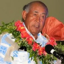 Le Président fidjien en tournée en Mélanésie
