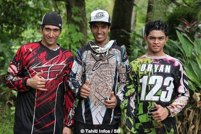VTT descente : Bryan Beaufils remporte la Coupe de Tahiti