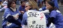 Rassemblements dans plusieurs villes pour défendre l'accouchement à domicile