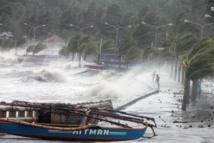 Le super-typhon Haiyan, le plus violent de l'année, frappe les Philippines