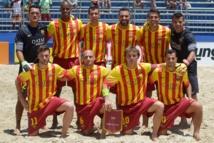 Jonathan Torohia avec  l'équipe d'Espagne