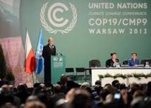Climat: bras de fer à Varsovie autour de la question de l'aide au Sud
