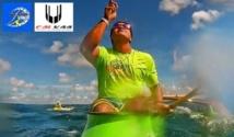 Va'a – Kévin Céran-Jérusalémy gagne le 'Vaka Eiva' aux îles Cook !