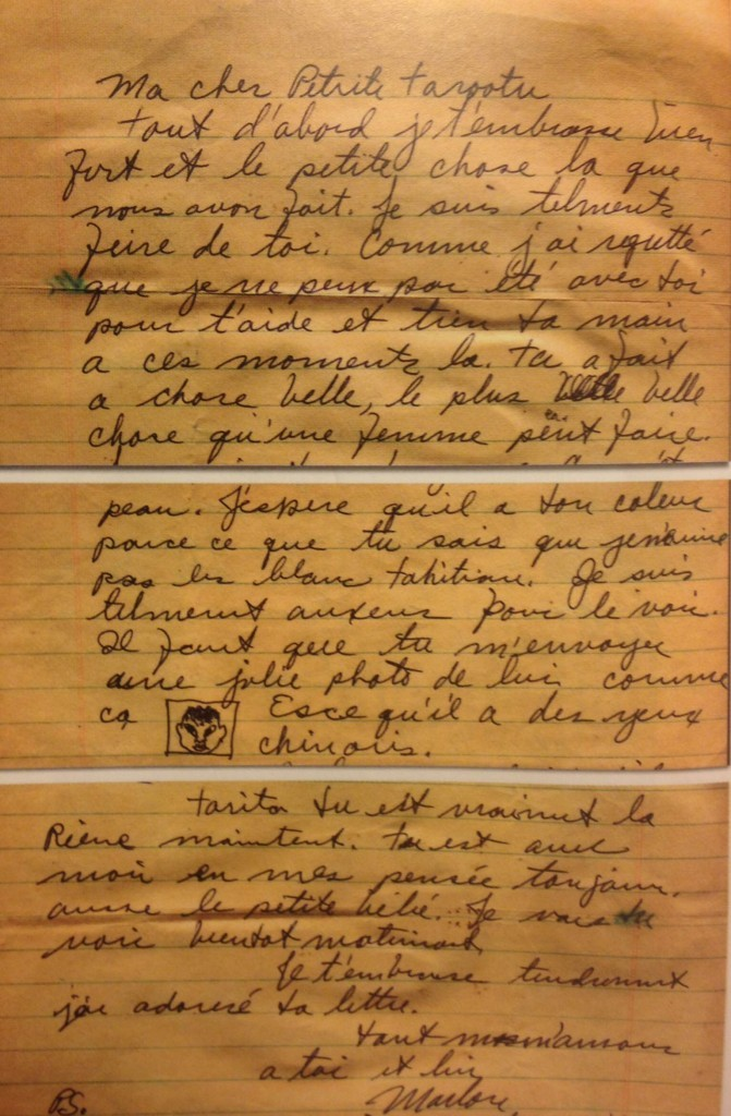 Découvrir: La Lettre de Marlon Brando à Tarita