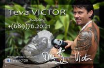 Teva VICTOR Expose du mardi 3 au samedi 7 décembre à la maison de la culture