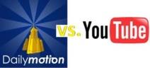 La bataille des studios est déclarée entre YouTube et Dailymotion