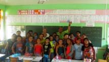 Préparation de l'assemblée territoriale des juniors à Raivavae