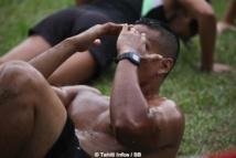 FITCAMP - Du Fitness version entraînement militaire à la Mairie de Pirae