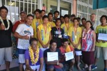 Collège Notre Dame des Anges, Champion de Polynésie de Va'a USSP 2013