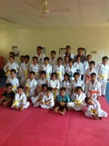 Premier passage de grade pour le Taekwondo Faa'a