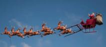 Le Père Noël officiellement autorisé à entrer avec ses rennes aux Etats-Unis