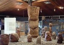 Musée de Tahiti et des îles : mise en valeur du patio et du site Hiti