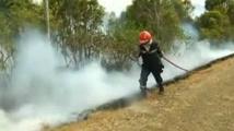 N-Calédonie:un important feu maîtrisé, 13 communes en alerte rouge