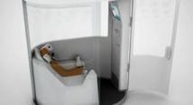 Une cabine de télémédecine dans une résidence pour seniors à Cluny (Saône-et-Loire)