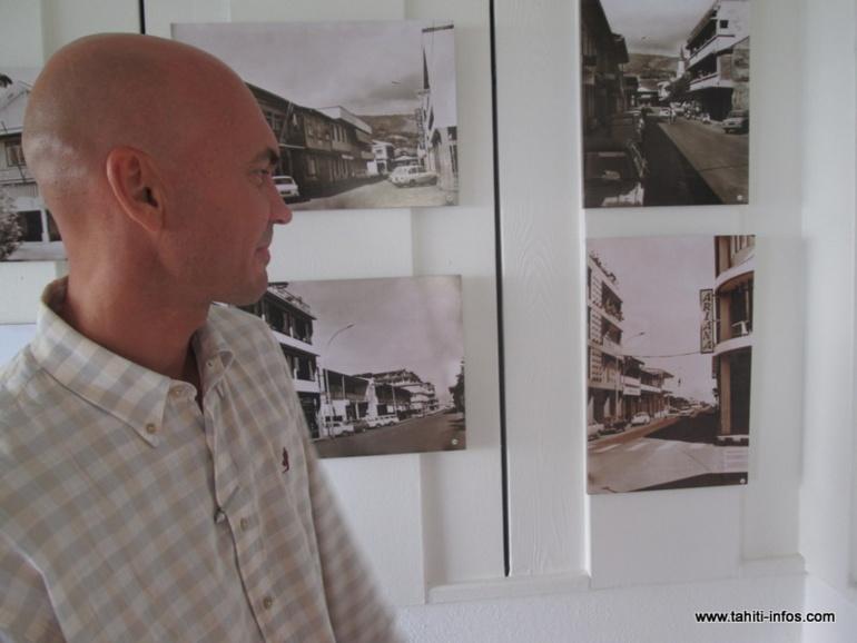 Cédric Chaveroche a utilisé un logiciel spécifique pour retoucher les quelques 32 photos exposées au Coco's, un restaurant situé à Punaauia.