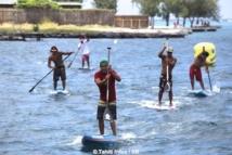SUP - VA'ATaaroa race : Rete Ebb et Kevin Céran-Jérusalémy pour les premières places