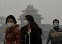 Pollution de l'air en Chine: les masques filtrants en rupture de stock