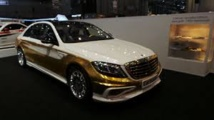 Automobile : une voiture en or pour le marché chinois au Salon de Genève