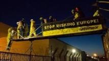 Nucléaire: spectaculaire intrusion de Greenpeace à Fessenheim