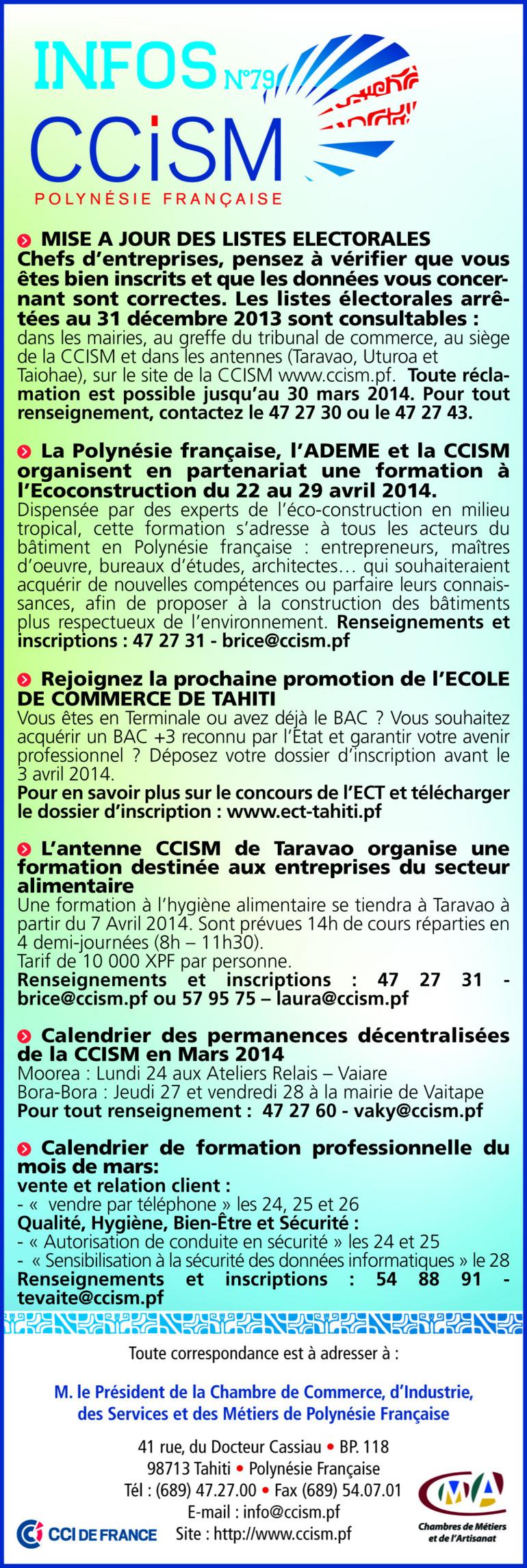 Infos CCISM N°80